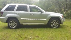 JEEP GRAND CHEROKEE OVERLAND CRD AUTOMATIC OCT 07
