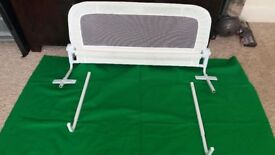 White Cot Bed Side