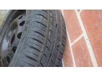 ford KA wheel mint Tyre