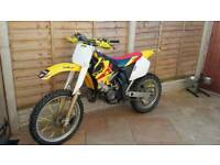 Suzuki rm 125 super evo not ktm yz cr kx