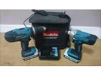 Makita Twin Pack impact and drill