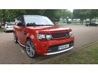 RANGE ROVER SPORT AUTOBIOGRAPHY BODY UPGRADED