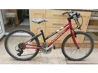 "Dawes Kokomo - kids mountain hybrid bike. 13"" Frame. 24"" wheels. Fully working."