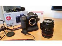 Canon 5d mk3 (mk iii) + 24-105 L Lens + BG-E11 Grip
