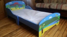 dinosaur toddler bed and mattress