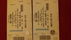2 Neill DIamond tickets for sale