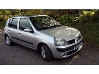 RENAULT CLIO 1.5 Diesel 2005 £30 TAX a Year