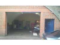 LONDON CAR REPAIR GARAGE TO LET. WALK TO FOREST GATE & WANDSTED PARK STATIONS.