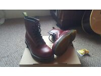 Ox Blood Red Dr Martins size 6