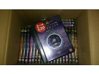 Stargate SG-1 DVDs Volumes 1 to 25