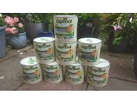 Cuprinol Shades Wood Fence Paint 2.5L slate jasmine green