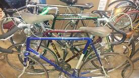 Variety of Racing Bikes available.Giant Koga Gazelle Peugeot