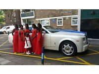 Wedding Car Hire | Limo Hire | Wedding Cars | Rolls Royce Hire | Rolls Royce Phantom Hire | Car Hire