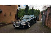 Chrysler 300c ,Black, imaculate condition,long mot.68.000miles,full service history.sat nav