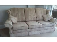 3-Seat & 2 Seat Sofas and 1 Winged Armchair – Excellent Condition