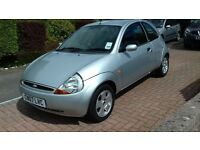 ford ka 2007 2 owners low miles