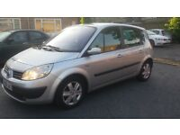 1.5 renault scenic 2006 year manual diesel 85000 miles history mot 8/9/2017..12 months aa