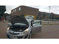 VAUXHALL CORSA 2012,GREAT,SUPERB CONDITION,WITH 2 OWNER FROM NEW