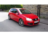 GOLF GT 2.0 TDI 6 SPEED 12MONTHS M.O.T LOW MILAGE 91K SERVICE HISTORY HPI CLEAR