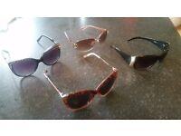 4 pairs of sunglasses