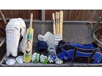 Cricket Set Adults, Kookaburra Kaos Bat, Puma Pads + more. £149 ONO. Very good condition!