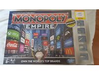 Monopoly Empire board game - brand nee sealed