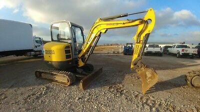2012 Wacker Neuson 38 Z3 Excavator 1416 hrs Zero Tail Swing Used, used for sale  Shipping to South Africa