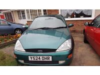 SOLD SOLD SOLD Ford Focus 1.8 Ghia - 12 month MOT, serviced by ford mechanic for last 14 yrs