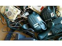 JOB LOT HOUSE PHONES 34 IN TOTAL MOSTLY BT