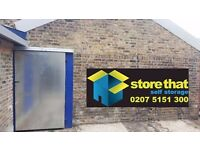 SPECIAL OFFER!!! DRIVE-UP UNITS (garage type) STORE THAT E14*CANARY WHARF*ISLE OF DOGS*DOCKLANDS