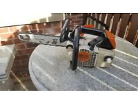 Stihl MS200T Top Handle Chainsaw Tree climbing saw