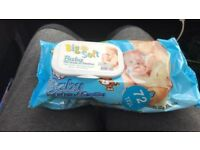 BABY WIPES x20 packets of 72 wipes £10