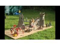 Castle playmobil set (2 sets)