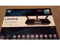 Linksys AC1900 Dual-Band Smart Wi-fi Router