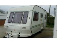 Cochman mirage 5 berth family caravan 1993