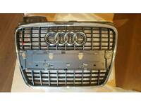 Genuine BRAND NEW AUDI A4 S LINE GRILLE. 2006 - 2007 - 2008.