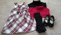 Girls Holiday outfit, TCP, size 3t