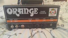 Orange Dark Terror almost new, only a few months old