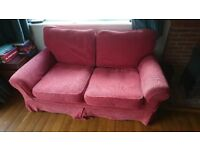 Laura Ashley Terracotta Sofa