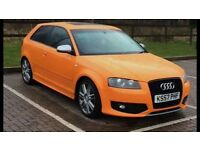 Audi s3 rare orange