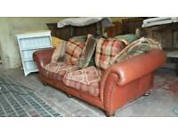 Leather Tetrad Sofa