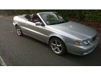 04 CONVERTIBLE VOLVO C70T WITH 12 MNTHS MOT, FSH.