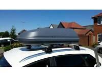 Car roof box halfords 250L