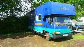 Leyland roadrunner 3 horse lorry