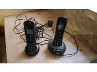Twin BT landline answer phones