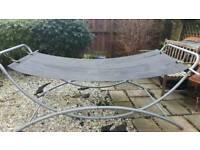 Garden hammock with frame