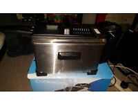 cookworks ss professional fryer
