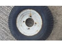 x 2 trailer wheels 8 inch