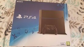 Brand new boxed Ps4 C Chassis 500GB