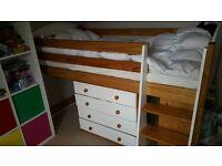 Mayfair Kids mid sleeper + mattress